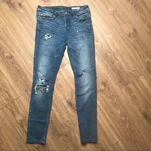 Zara Z1975 Distressed Jeans